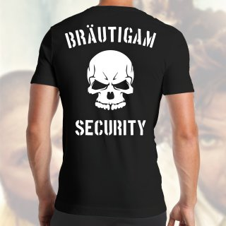 JGA Bräutigam Security T-Shirt