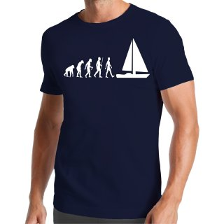 Evolution Sailing Boat T-Shirt
