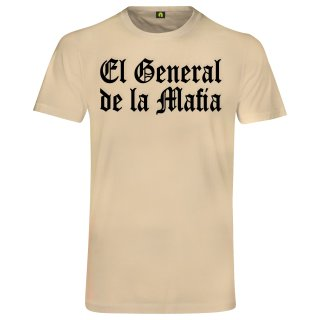 El General De La Mafia T-Shirt Beige 2XL
