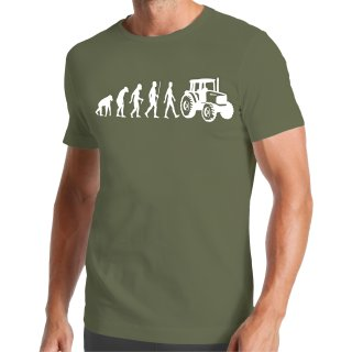 Evolution Tractor T-Shirt
