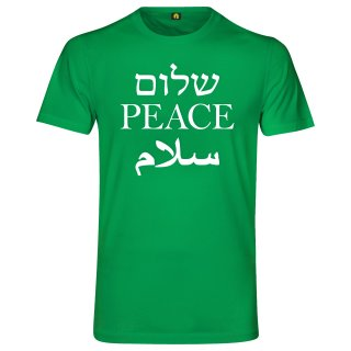 Peace T-Shirt Grün 2XL