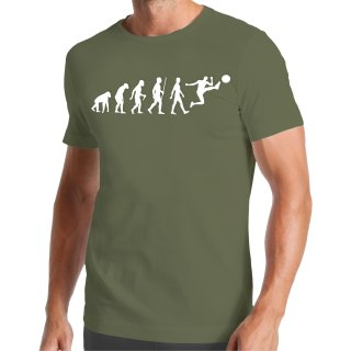 Evolution Fußball T-Shirt
