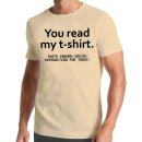 You Can Read My T-Shirt
