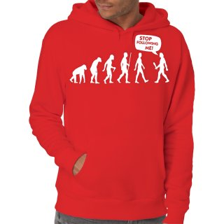 Evolution Stop Following Me Hoodie