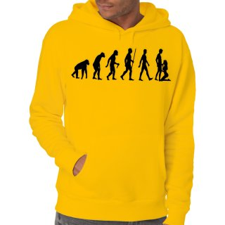 Evolution Sucks Kapuzenpullover