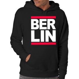 Run Berlin Kapuzenpullover