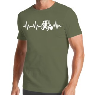 Heartbeat Tractor T-Shirt