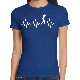 Heartbeat Photographer Ladies T-Shirt