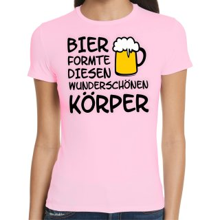 Beer Shape This Wunderfull Body Ladies T-Shirt