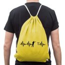 Heartbeat Beer Pong Gym Sack