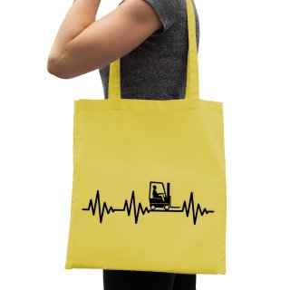 Hearbeat Stacker Cotton Bag